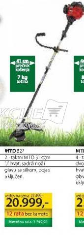 Motorni trimer MTD 827