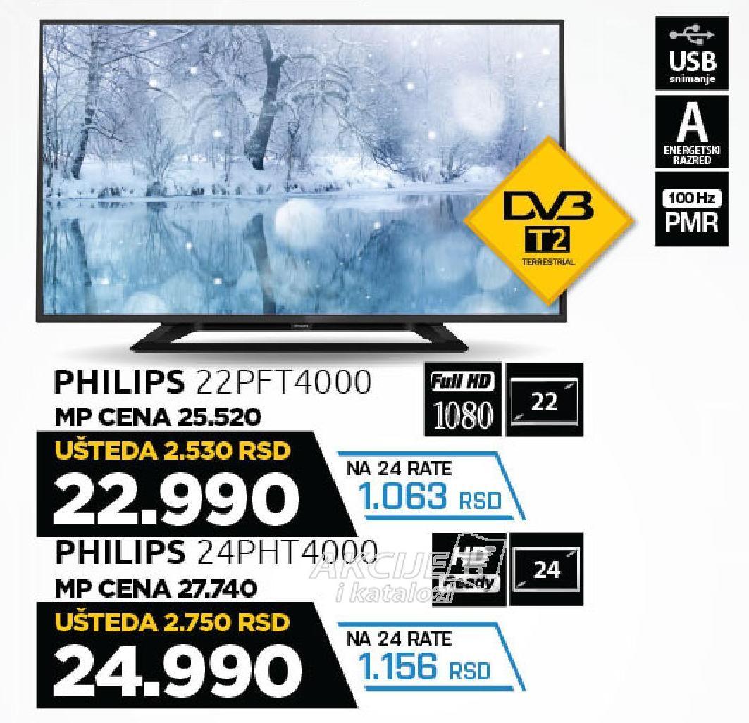 """Televizor LED 22"""" 22PFT4000"""