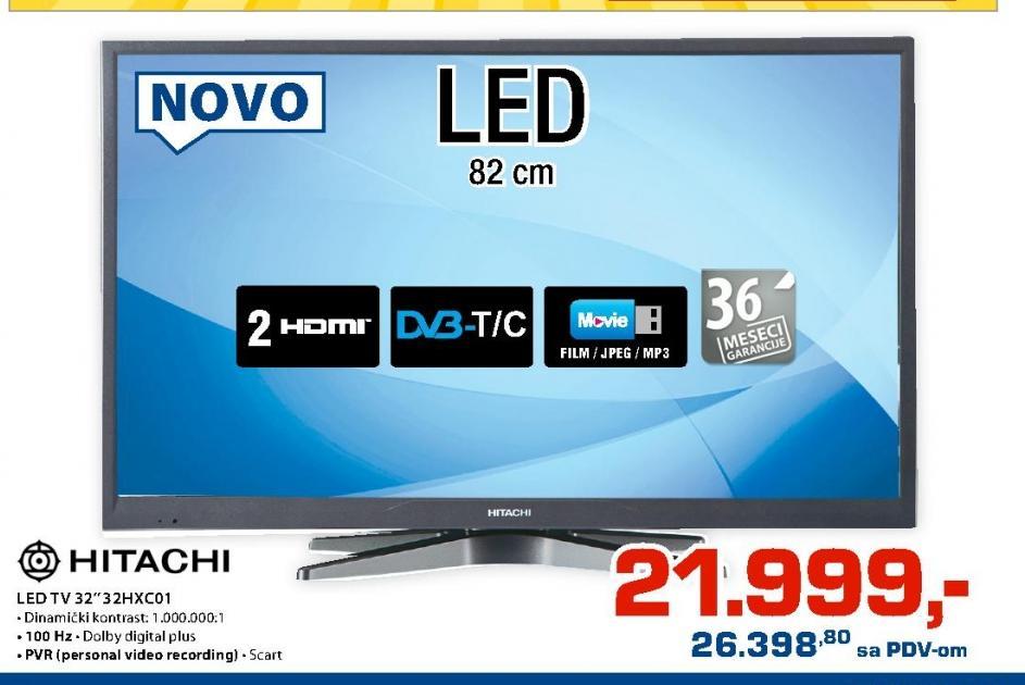 LED Televizor 32HXC01