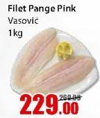 Smrznuta riba pangasius filet pink