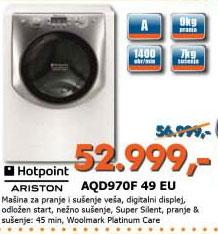 Veš mašina  AQD970F 49 EU