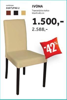 Trpezarijska stolica IVONA