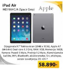 Tablet iPad Air MD785HC/A