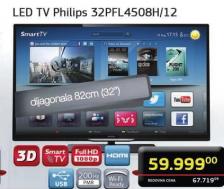 Televizor LED LCD 32PFL4508H/12
