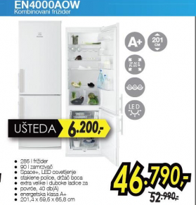 Kombinovani frižider EN4000AOW