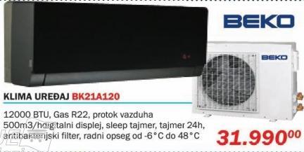 Klima uređaj Bk21a120