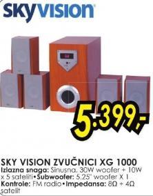Zvučnici Xg1000 Sky Vision