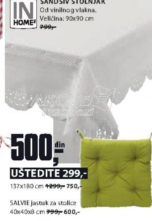 Jastuk Salvie  za stolice