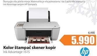 Kolor štampač, skener, kopir Ink Advantage 1515