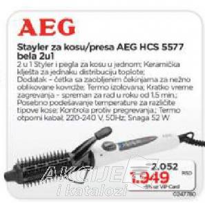 Styler  za kosu HCS 5577