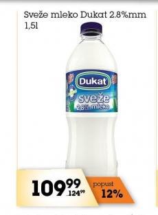 Sveže mleko 2,8% mm