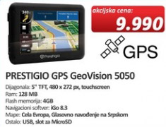 Navigacija GeoVision 5050