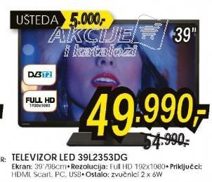 Televizor LED LCD 39L2353DG