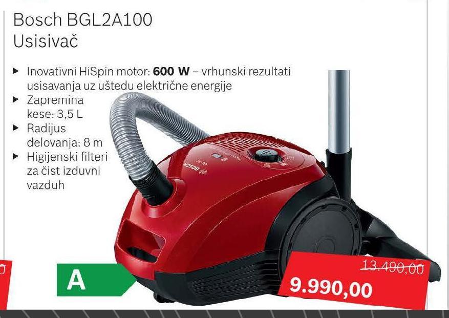 Usisivač BGL 2A 100