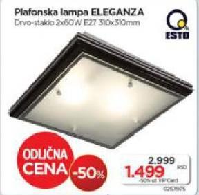 Plafonska lampa Eleganza