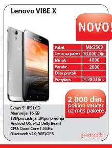 Mobilni telefon VIBE X S960