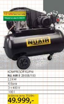 Kompresor NuAir 2800B/100