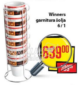 Winners garnitura šolja 6/1