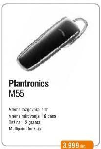 Bluetooth slušalice M55