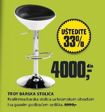 Barska stolica Troy
