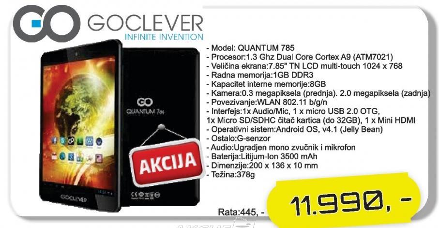 Tablet Quantum 785