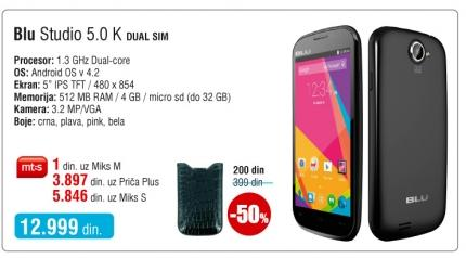 Mobilni telefon Studio 5.0 K