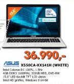 Laptop X550CA-XX141H (WHITE)