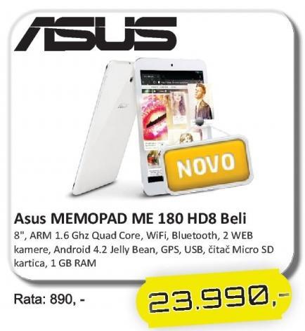 Tablet MemoPad Me 180 Hd8 Beli