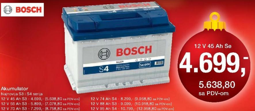 Akumulator 12V 70Ah S3