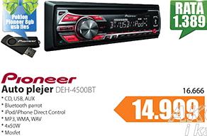 Auto CD MP3 Player DEH-4500BT