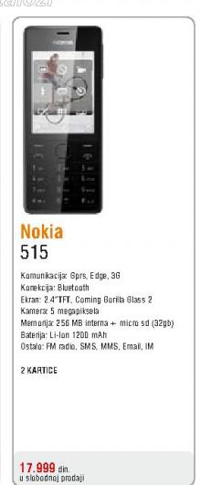 Telefon mobilni 515