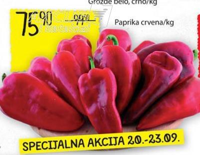 Paprika crvena