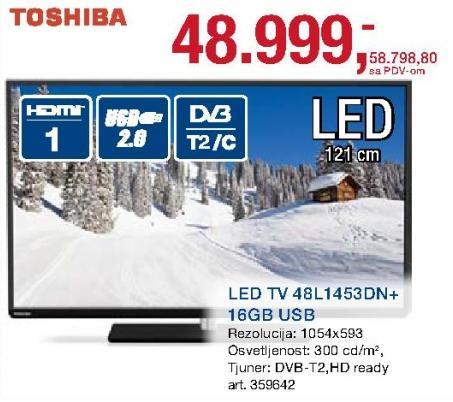 """Televizor LED 48"""" 48l1453dn"""