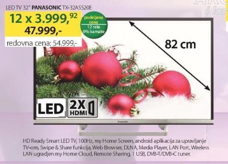 """Televizor LED 32"""" TX-32AS520E"""
