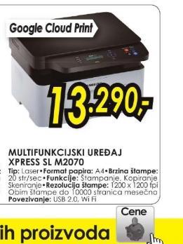 Multifunkcijski uređaj Xpress SL-M2070