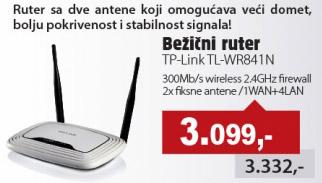 Bežični ruter TL-WR841N