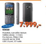 Mobilni telefon S5610 Metallic Silver