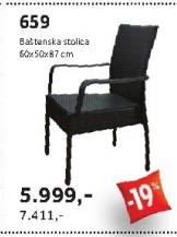 Baštenski stolica
