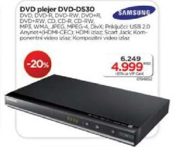 DVD plejer DVD-D530