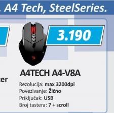 Miš A4-V8A