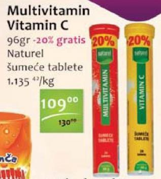 Šumeće tablete multivitamin