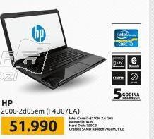 Laptop 2000-2d05EM  F4U07EA