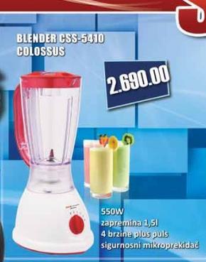Blender CSS-5410