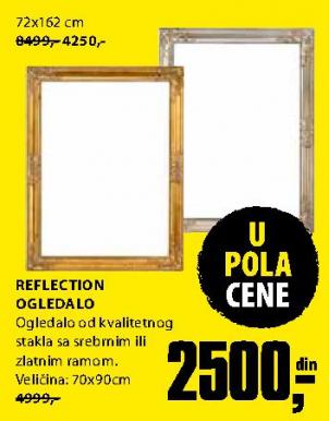 Ogledalo Rerflection 70x90 cm