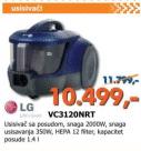 Usisivač VC3120NRT
