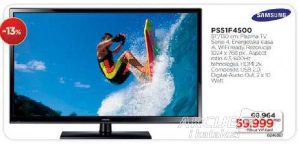 "Televizor Plazma 51"" Ps51f4500"