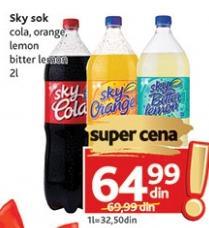 Gazirani sok Sky lemon