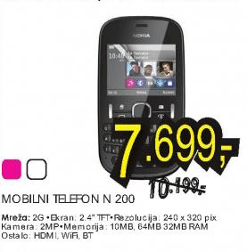 Mobilni telefon Asha N 200