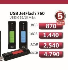 USB JetFlash 760 8GB
