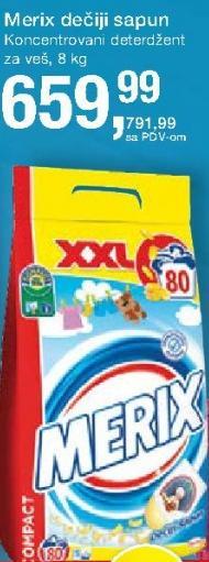 Deterdžent za veš dečiji sapun